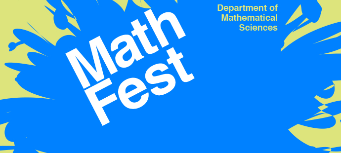 Math Fest, Tuesday, October 3rd